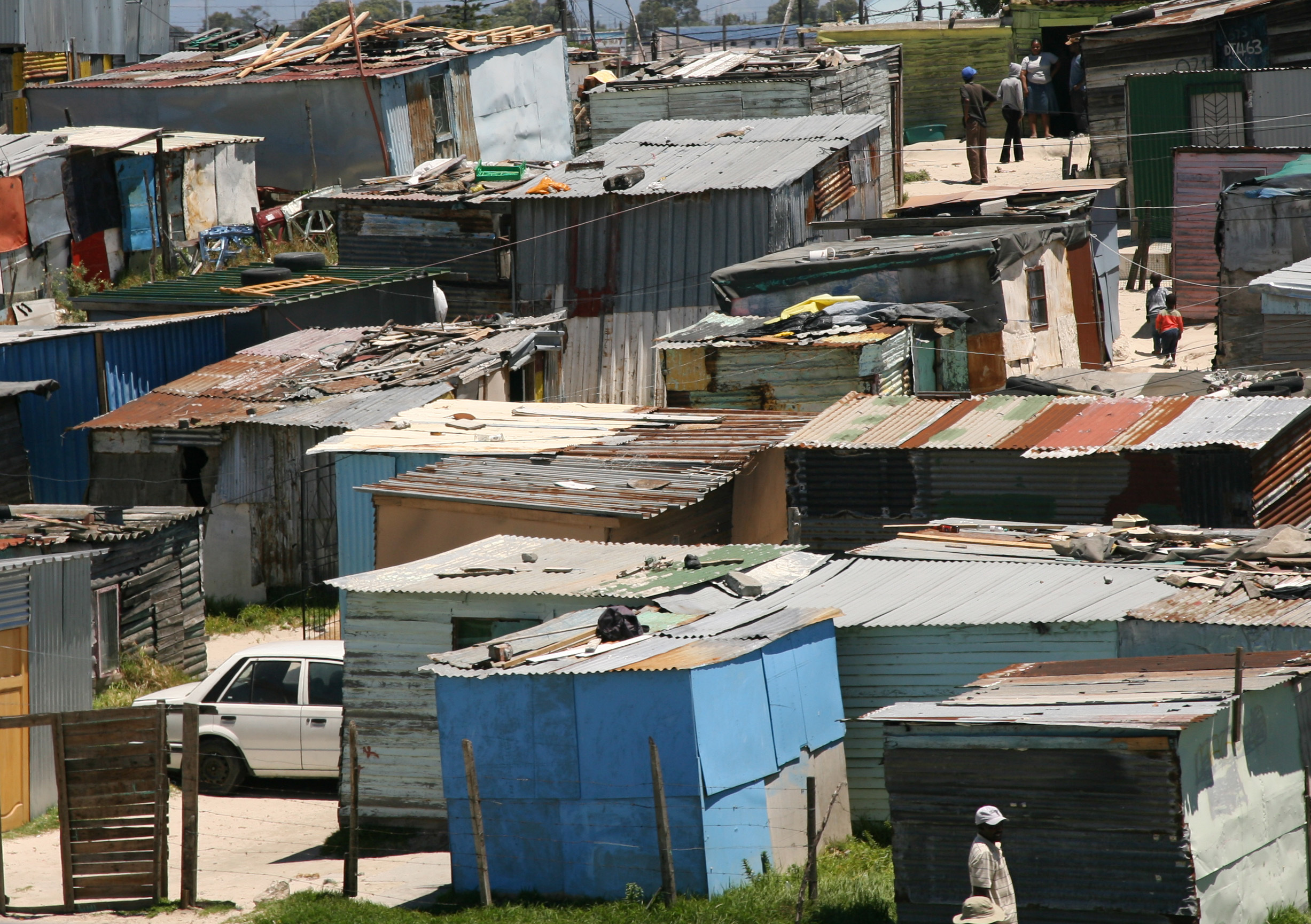 Khayelitsha township is not known for being the safest place. Credit: PA