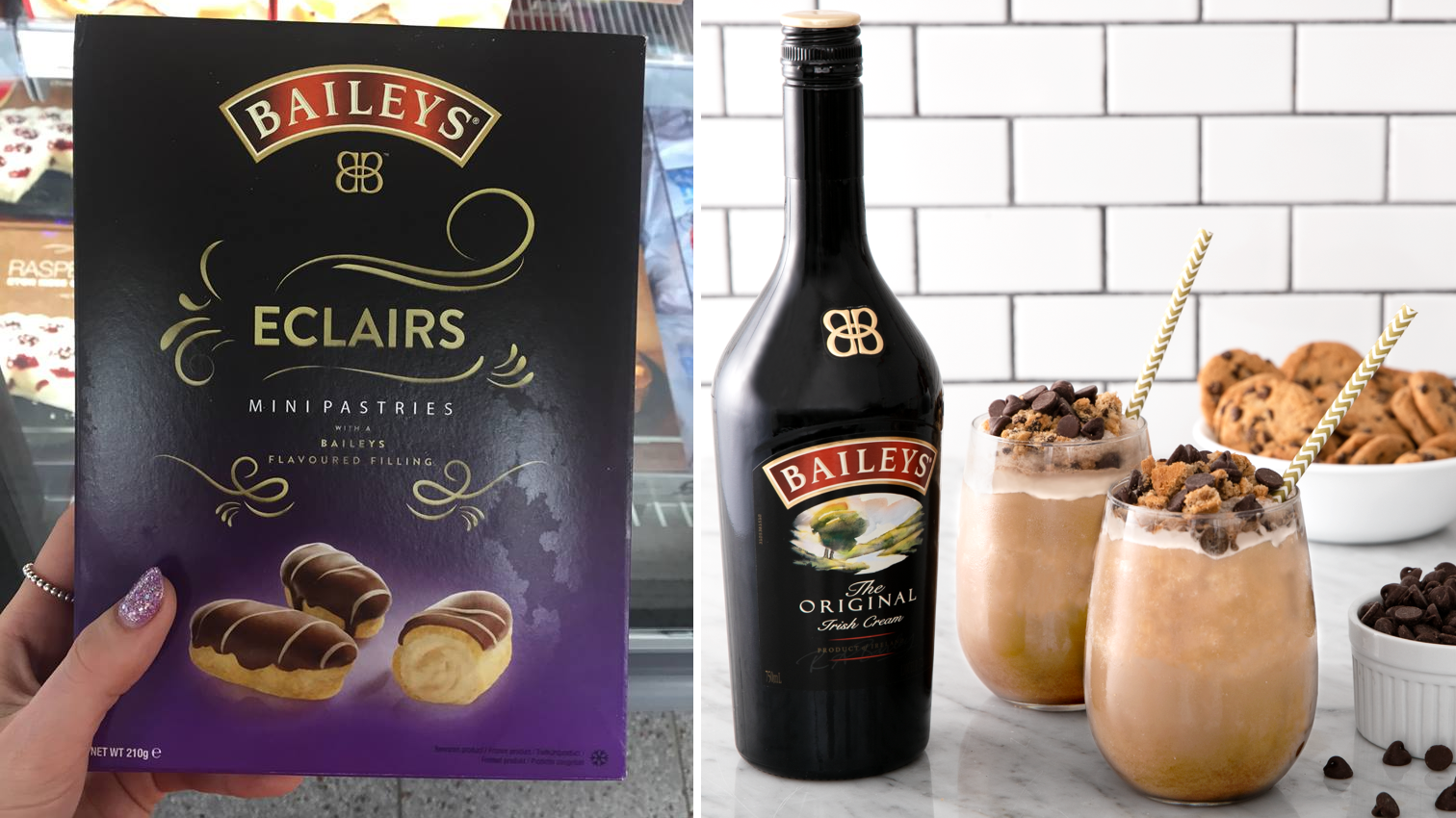 Iceland Is Selling These Delicious Mini Baileys Eclairs For Just £2