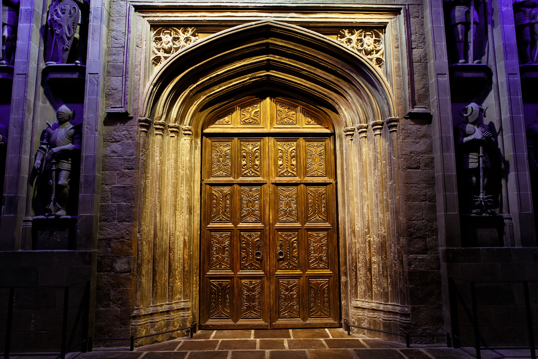 Foyer Hallway Questions : Hogwarts doors of course animal week means owls and