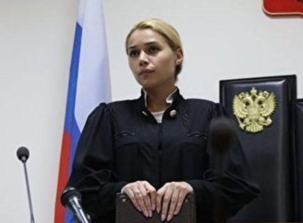 The judge took the decision to leave, herself. Credit: NOVAYA GAZETA