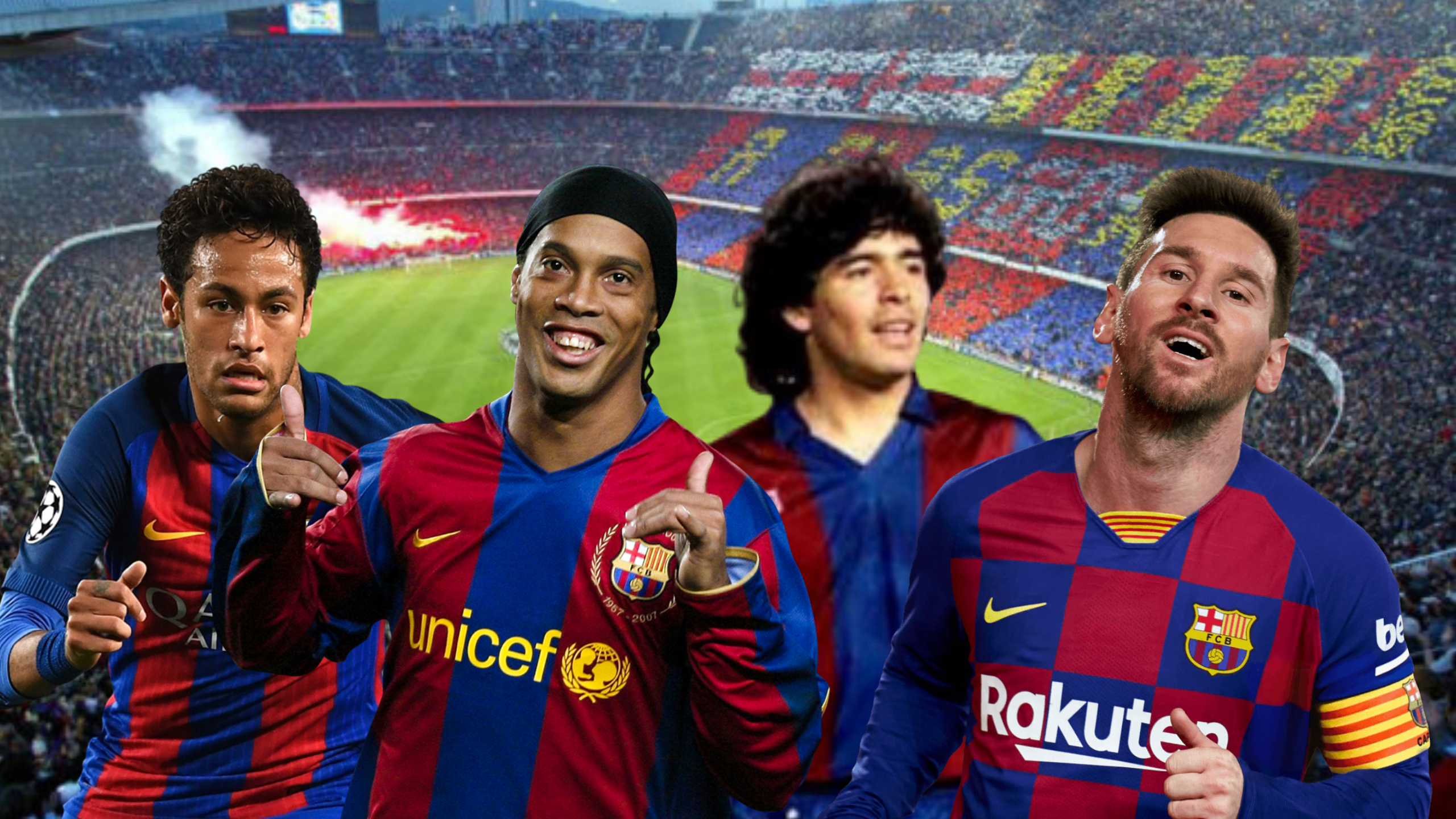 Barcelona S Greatest Players Of All Time Have Been Ranked Lionel Messi Only Third Sportbible