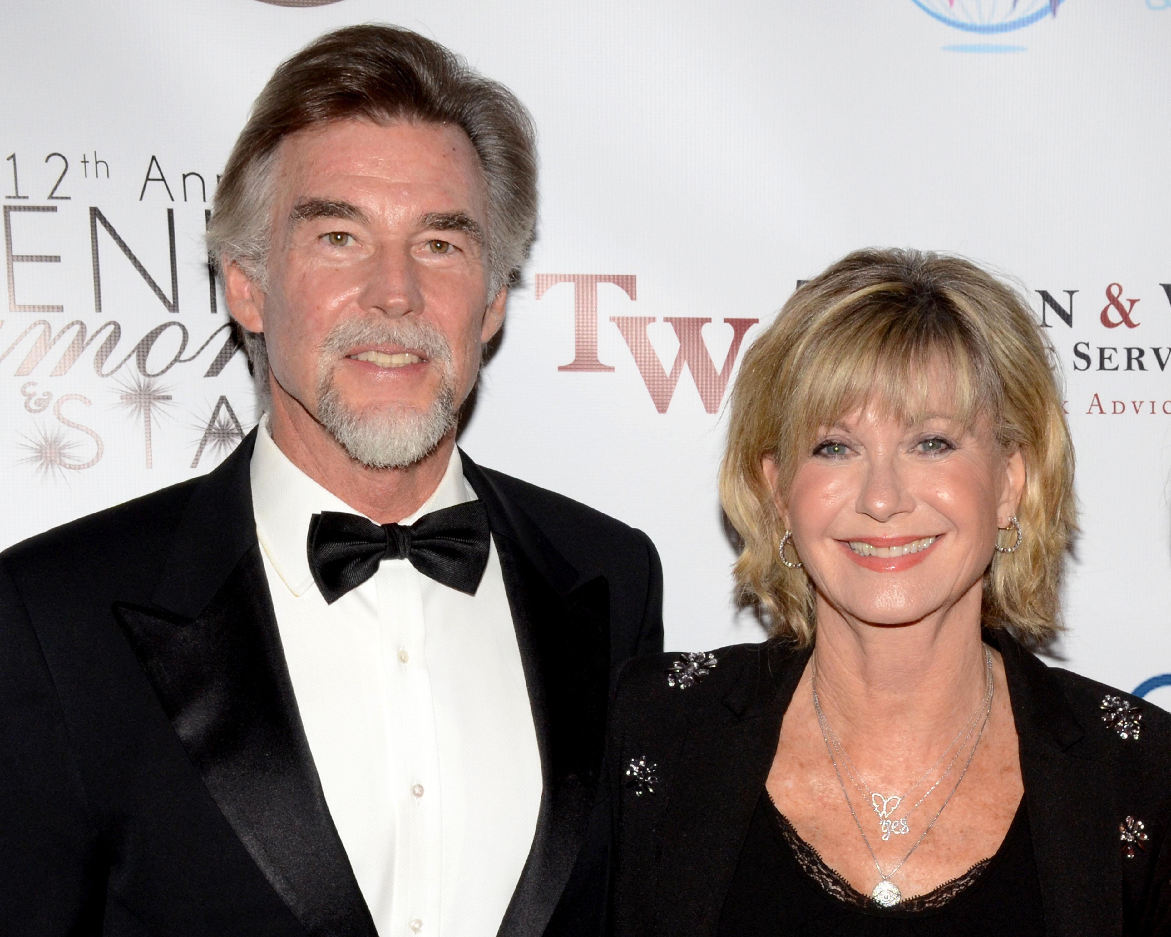Olivia and her husband John Easterling. Credit: PA Images