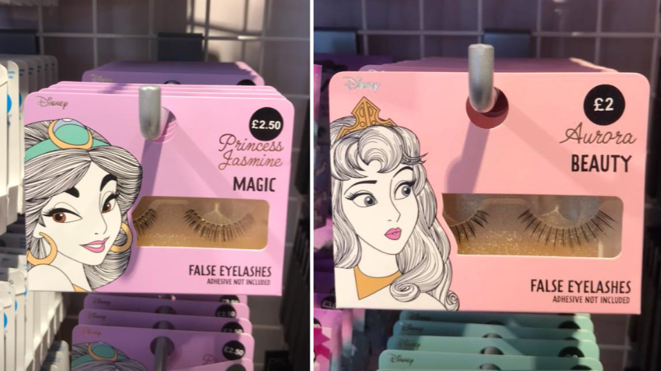 Calling All Princesses, Primark's Selling Disney-Themed Eyelashes
