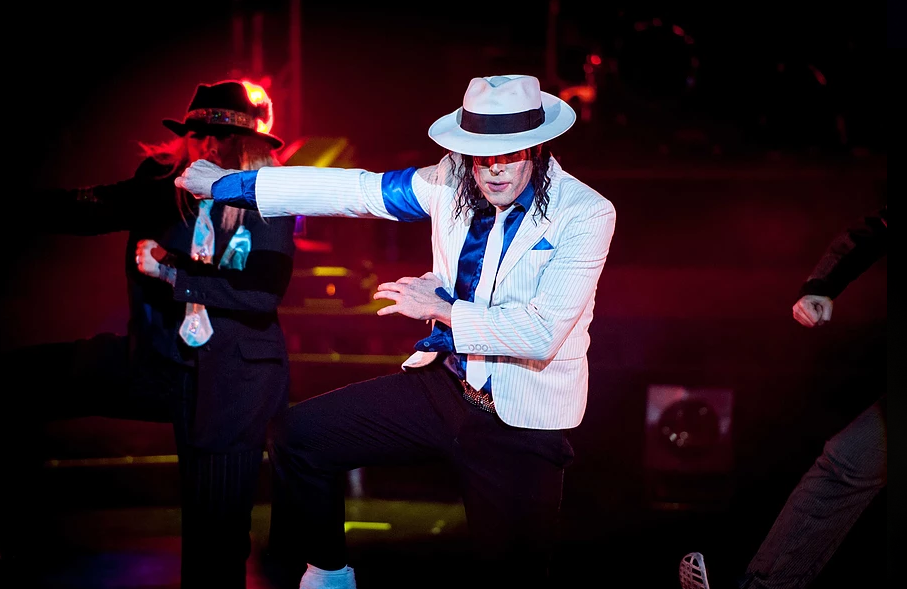 Robin Parsons has been working as a full time Michael Jackson tribute act for more than 10 years. Credit: Forever Jackson