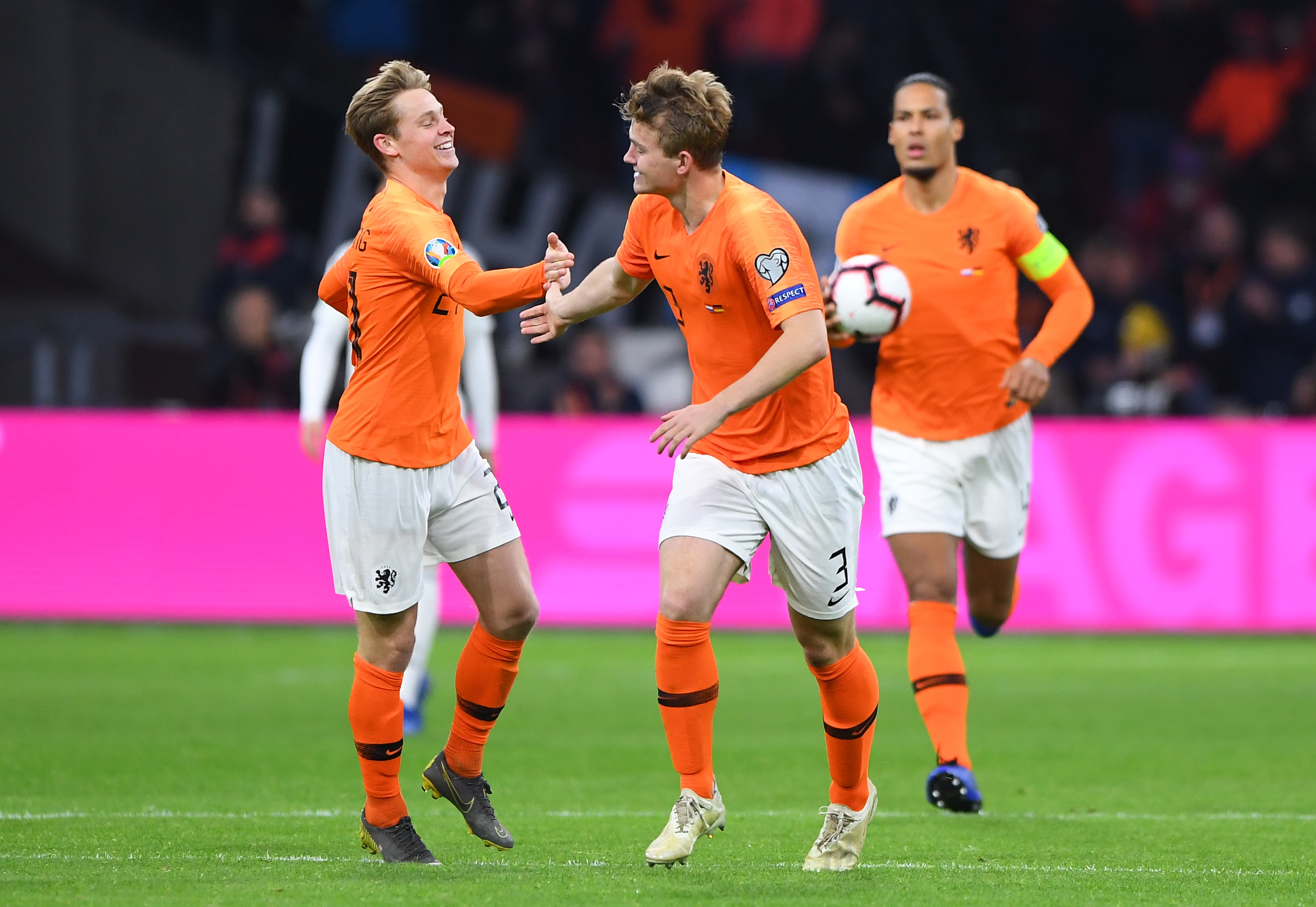 De Jong and De Ligt could be together for a long time. Image: PA Images