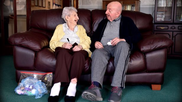 98-Year-Old Mum Moves Into Care Home So She Can Look After 80-Year-Old Son