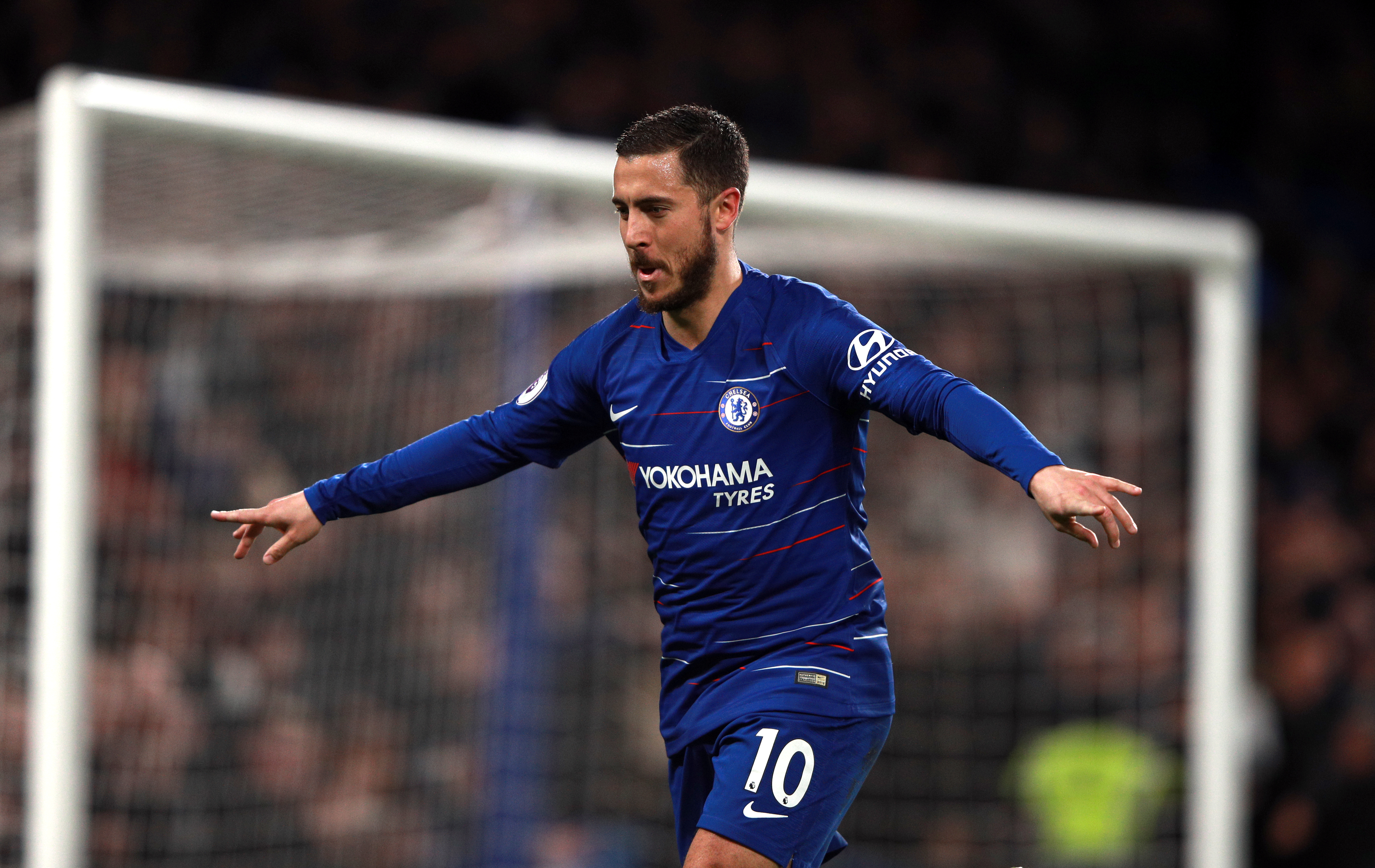 Hazard's had another excellent season for Chelsea. Images: PA Images