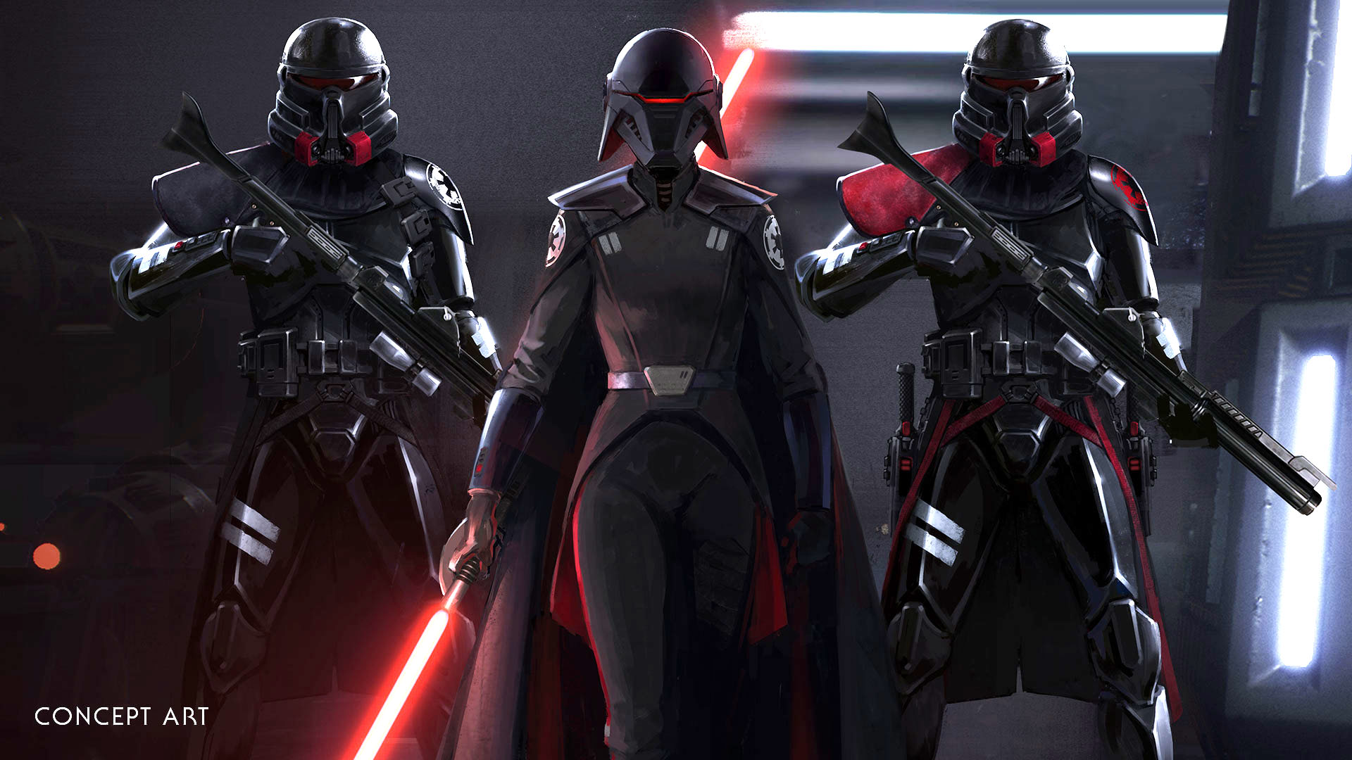 In Star Wars: Jedi Fallen Order you're being hunted by the Second Sister