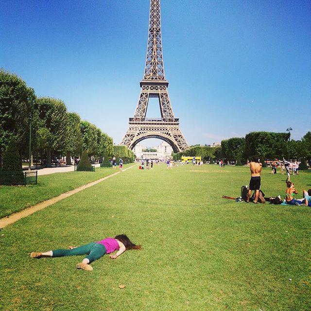 Le Tour Eiffel. Credit: Instagram/Stefdies