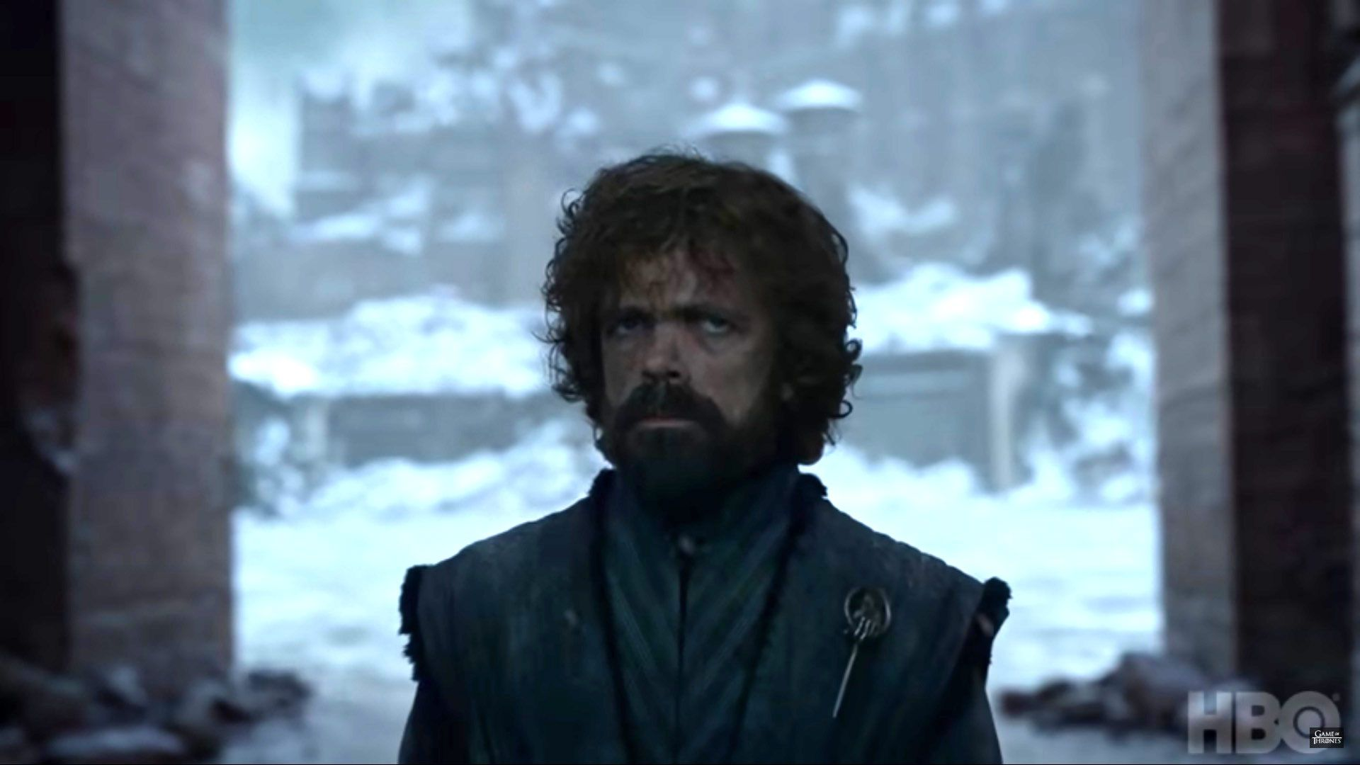 Tyrion looks worried. Credit: HBO