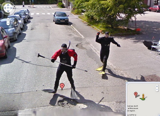 WTF Is Happening Here? Credit: Google Maps.