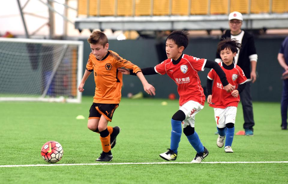 Half A Million Viewers Tuned In For A Wolves Under 9's Five-A-Side Game