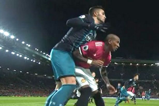 FA Charge Man United's Young For Violent Conduct
