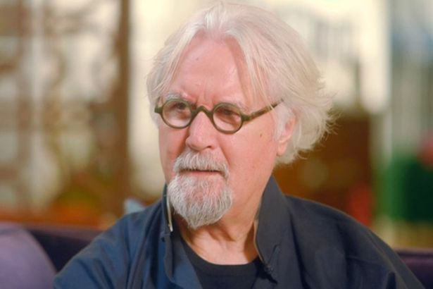 Billy Connolly speaking to Susan Calman on The One Show. Credit: BBC