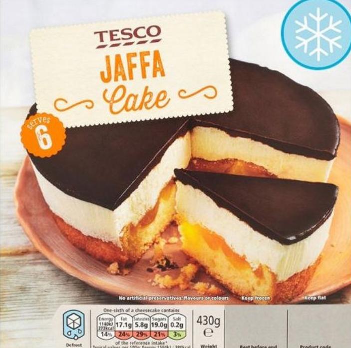 Tesco's Jaffa Cake looks very tasty. Credit: Tesco