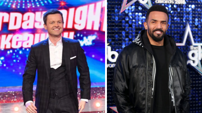 Dec To Be Joined By Denise Richards And Craig David During Saturday Night Takeaway Finale