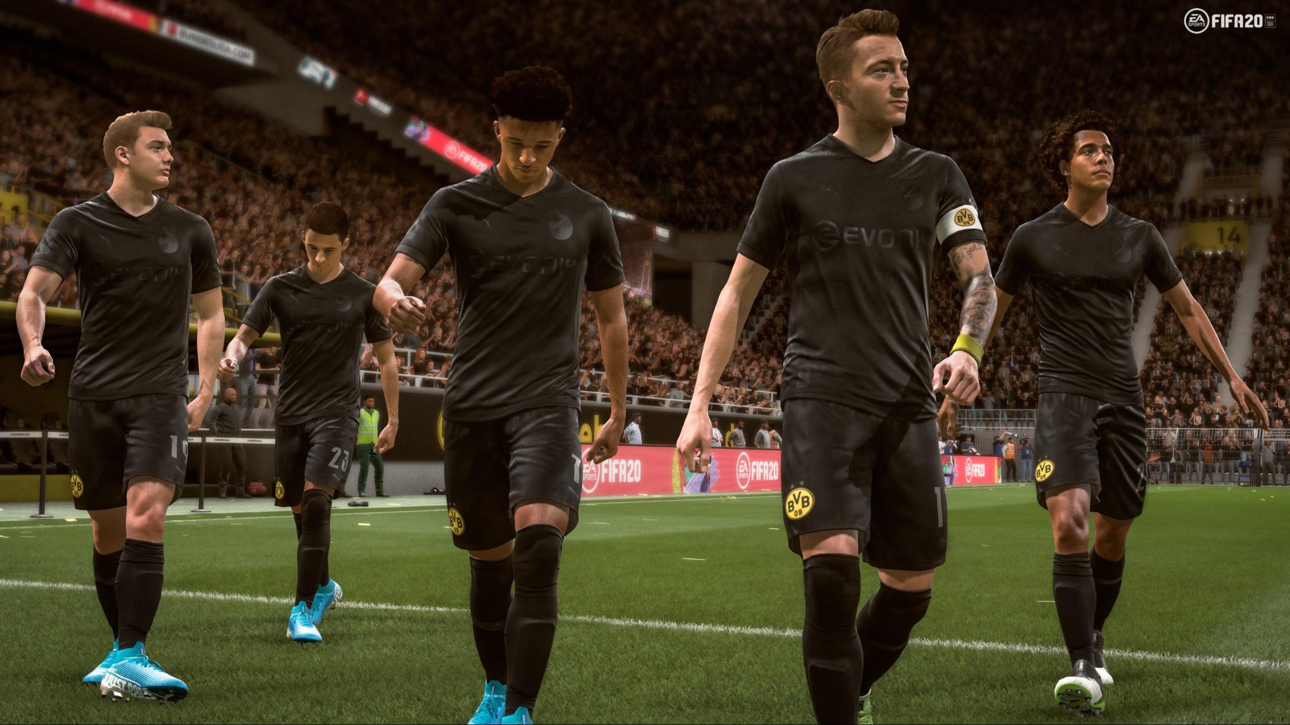 Borussia Dortmund S Stunning Blackout Kit Is Now In Fifa 20 Sportbible
