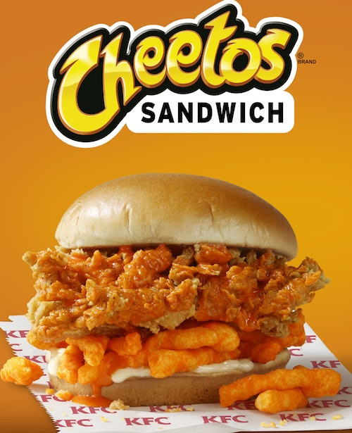 KFC announces Cheetos Sandwich available nationwide