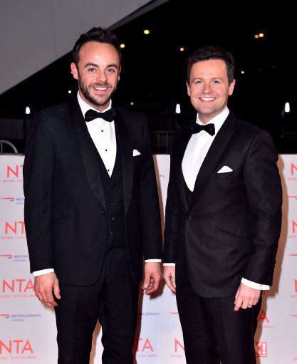 Declan Donnelly releases statement following Ant McPartlin's drink-driving arrest
