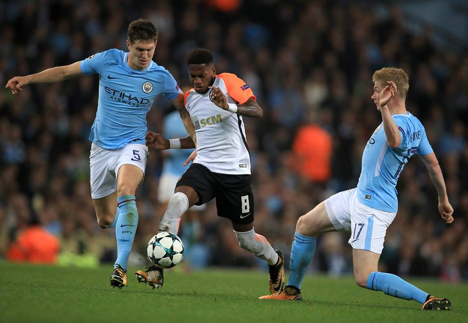 Fred impressed against Manchester City in the Champions League. Image: PA