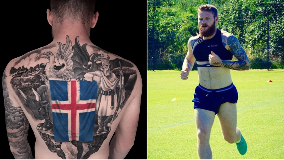 Iceland Captain Aron Gunnarsson Has Definitely Got The Best Tattoo At The World Cup