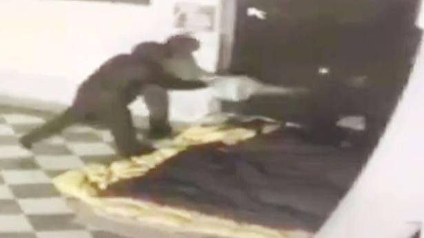 Footage Released Of Homeless Man Burned Alive After Killer Became 'Jealous'