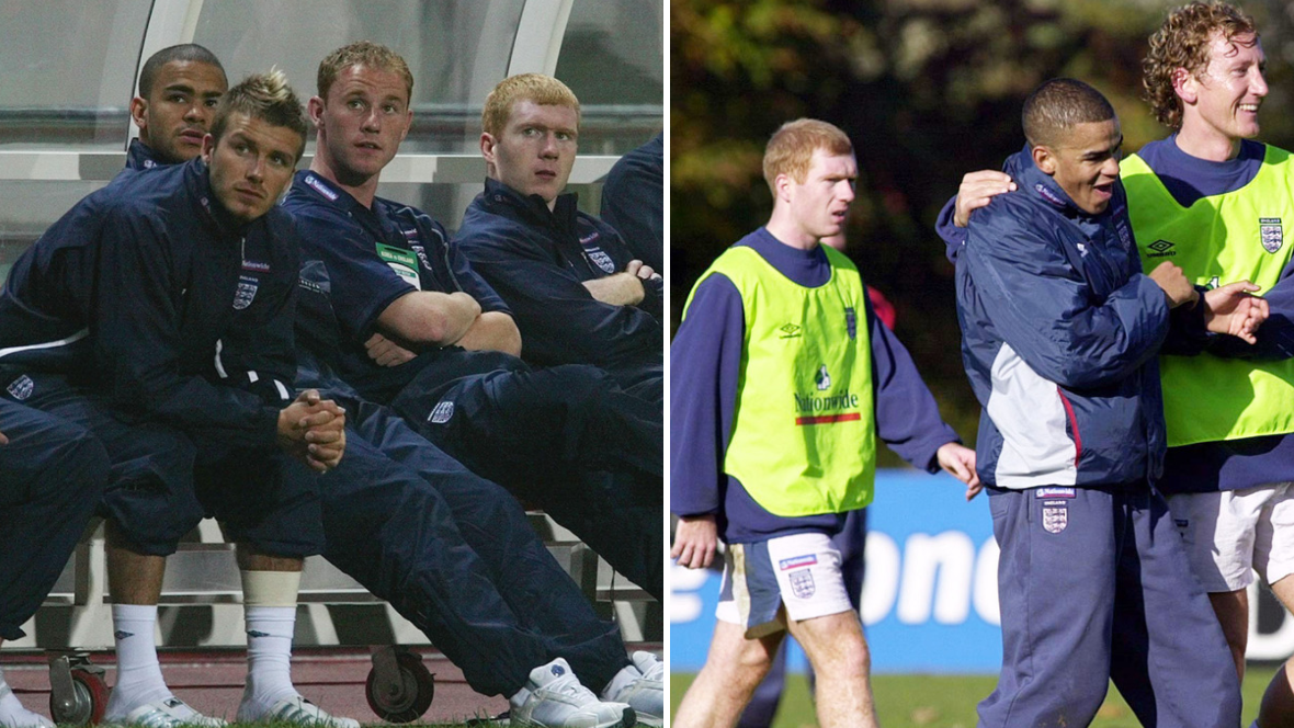 Kieron Dyer Tells A Crazy Story About Paul Scholes In England Training