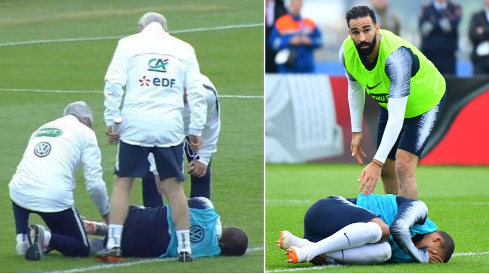 Watch: Kylian Mbappe Suffers Injury Scare Days Before World Cup