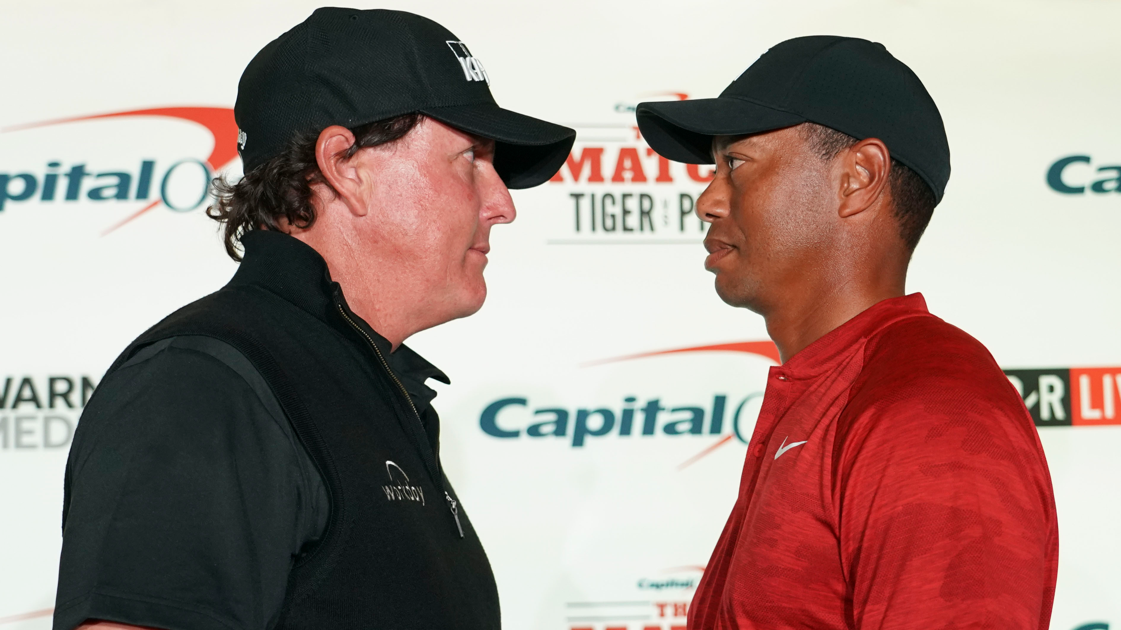Phil Mickelson And Tiger Woods' Face Off Didn't Go According To Plan