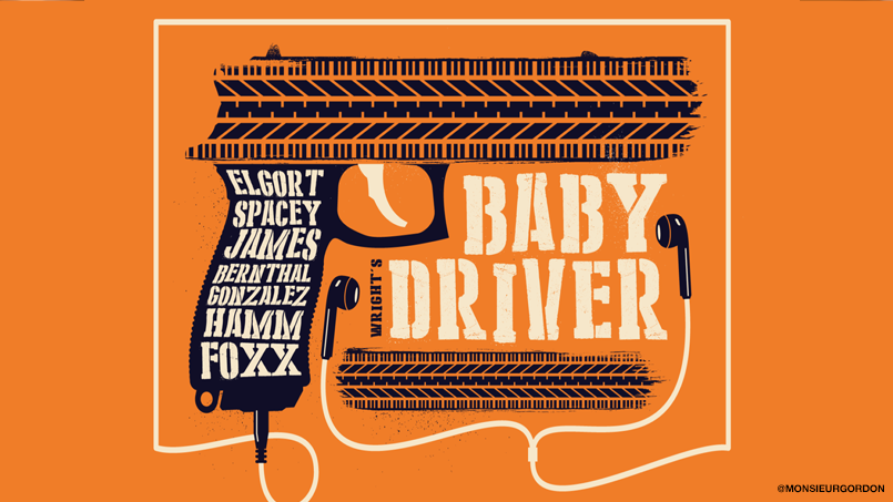These Alternative Posters For Baby Driver Are Next Level