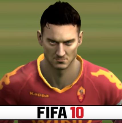 Totti Fifa 10
