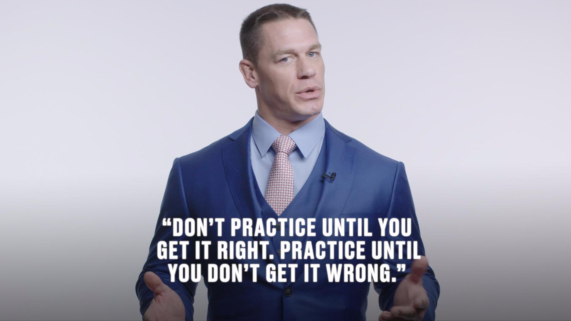 John Cena's Words of Wisdom: WWE Star Shares His Inspirational Advice