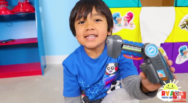 Ryan donates all of the toys to local charities. (Credit: YouTube/ Ryan ToysReview)