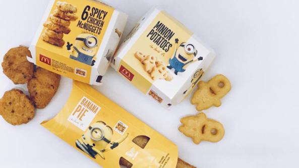 McDonald's Have Dedicated A Whole Menu To Minions