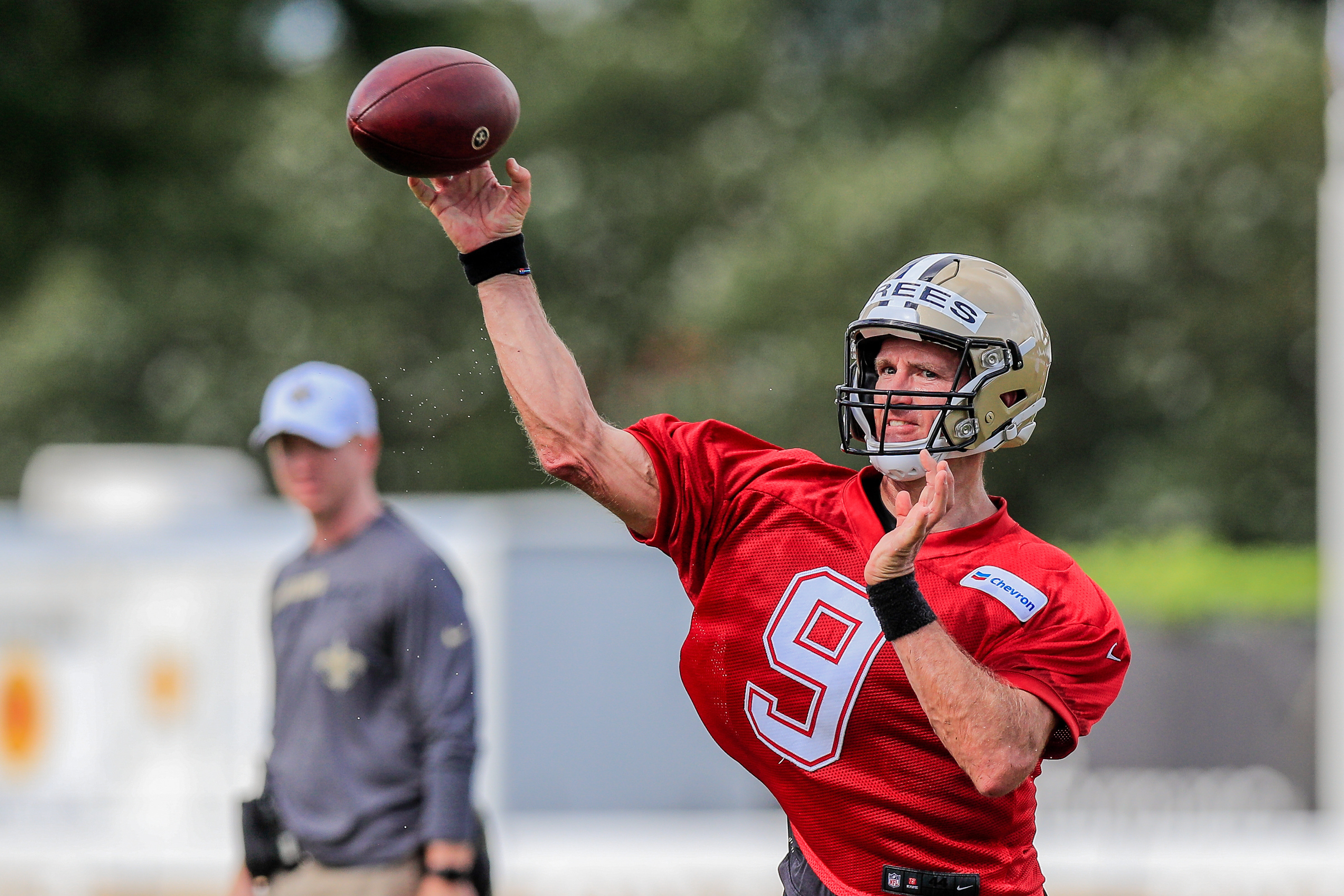 New Orleans Saints quarterback Drew Brees is set for his 19th season in the NFL