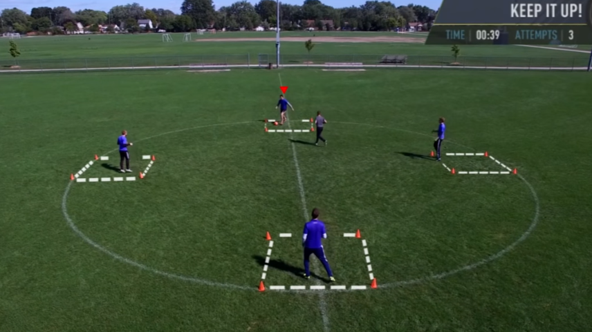 YouTuber Creates FIFA Skills Game In Real Life And Dupes His Dad