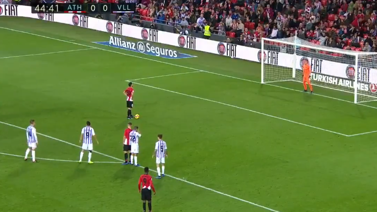 Aritz Aduriz Scores A Five-A-Side Penalty In A Proper Game And It's Unbelievable