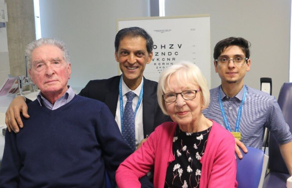 Doctors Restore Sight In Two Patients With Common Form Of Blindness