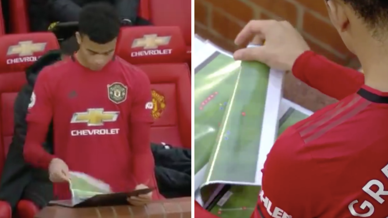 Sky Sports Cameras Zoom In On Manchester United S Tactics On Live Tv Sportbible