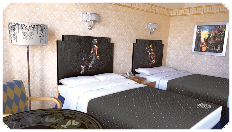 Japan Getting Kingdom Hearts-Themed Hotel Rooms