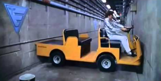 The hapless driver was likened to Austin Powers. Credit: New Line Cinema
