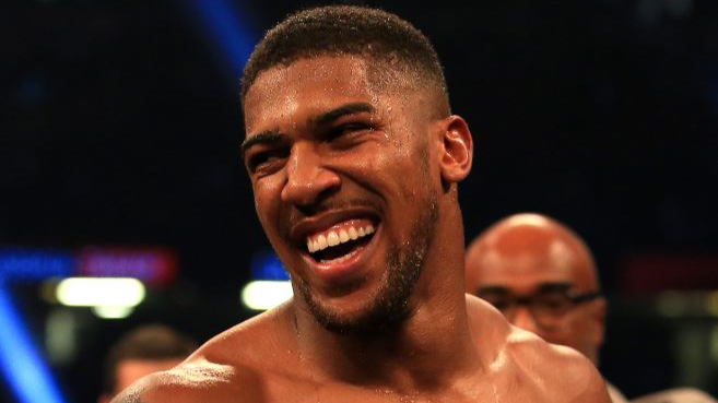 ​Anthony Joshua Asks Prince Harry If He Can Be Best Man