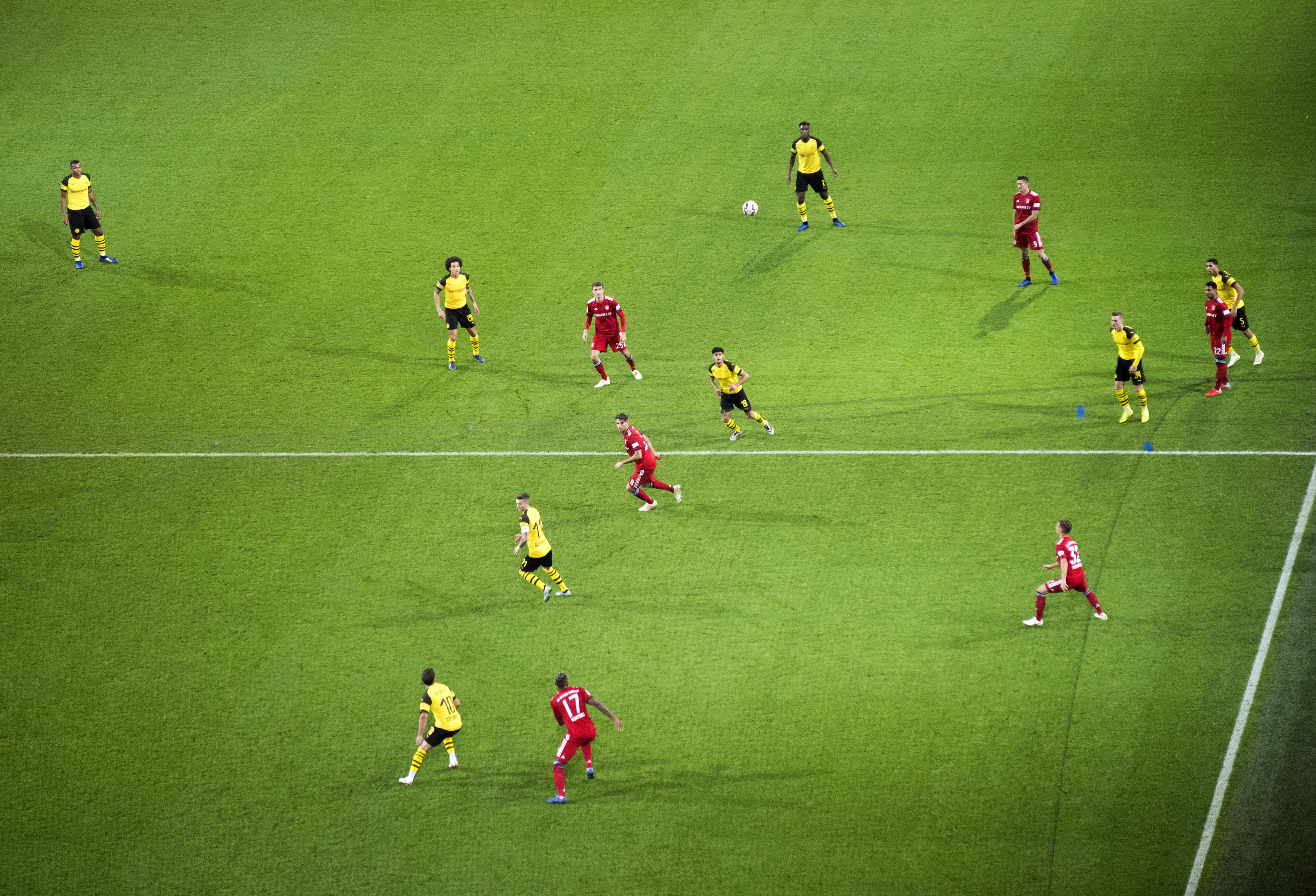 Bayern and Dortmund renew rivalries in a huge game at the weekend. Image: PA Images