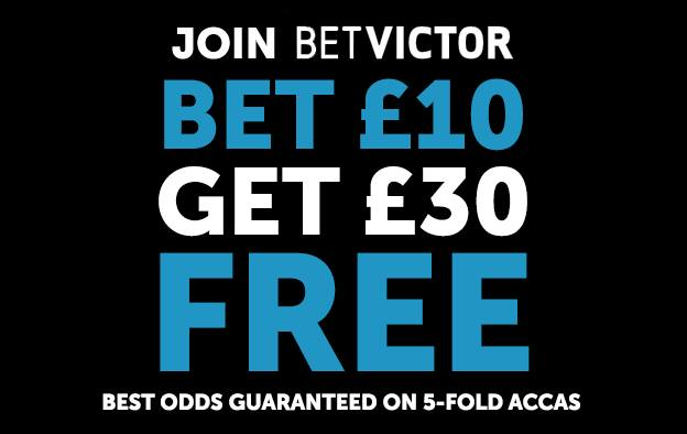 BetVictor 10 30