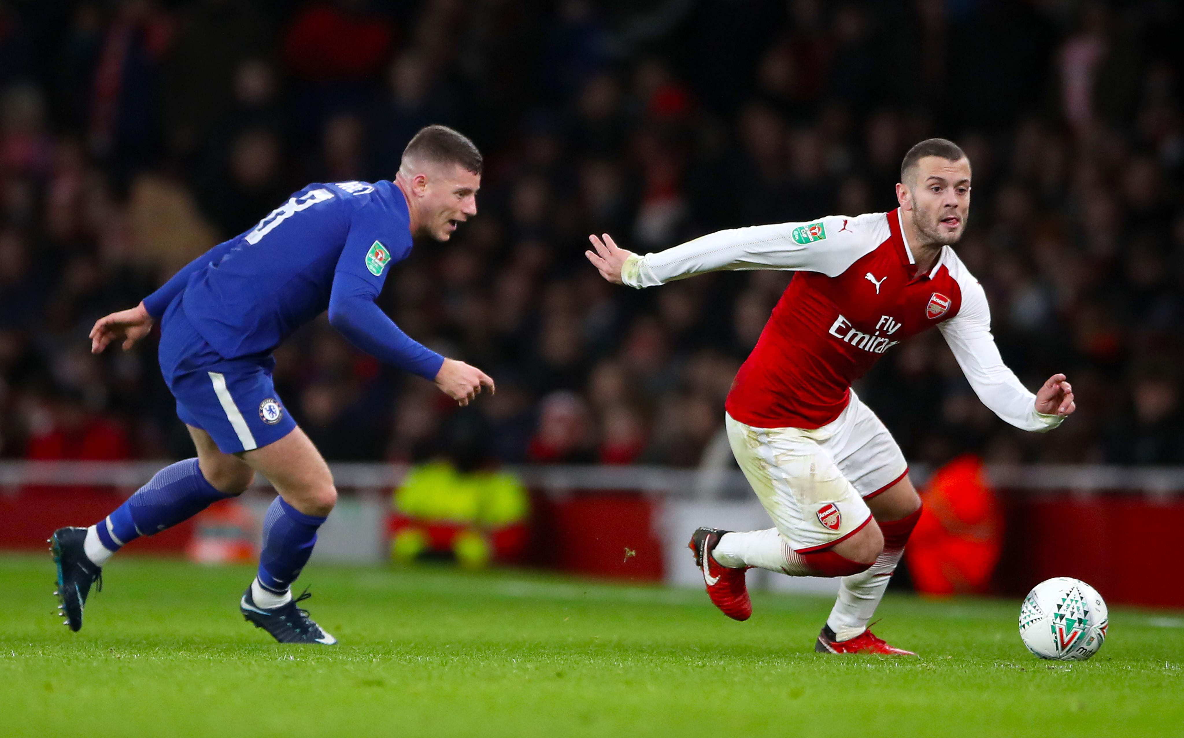 Arsenal Sink Chelsea To Secure Carabao Cup Final Spot
