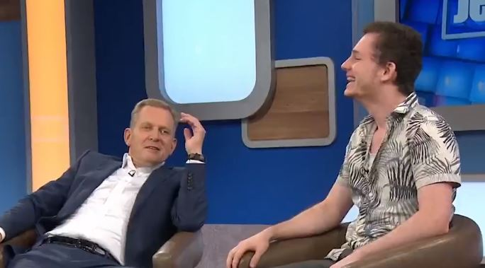 Barry explained that he believed his ex-wife had tampered with condoms. Credit: ITV/The Jeremy Kyle Show