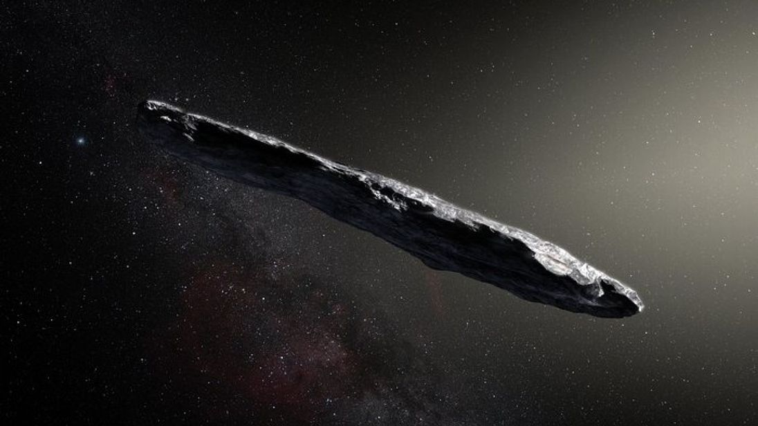 Oumuamua asteroid was first spotted in Hawaii last year. Credit: ESO/M. Kornmesser
