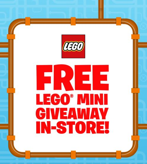 The LEGO giveaway begins at 9am on Saturday. Credit: Facebook/Smyths Toys Superstores
