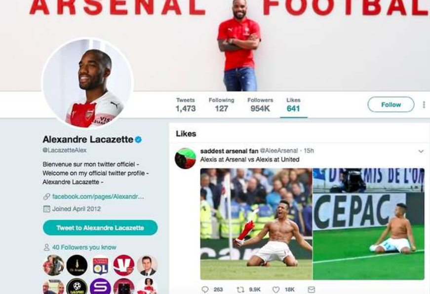 Transfer: Lacazette to leave Arsenal before August 31