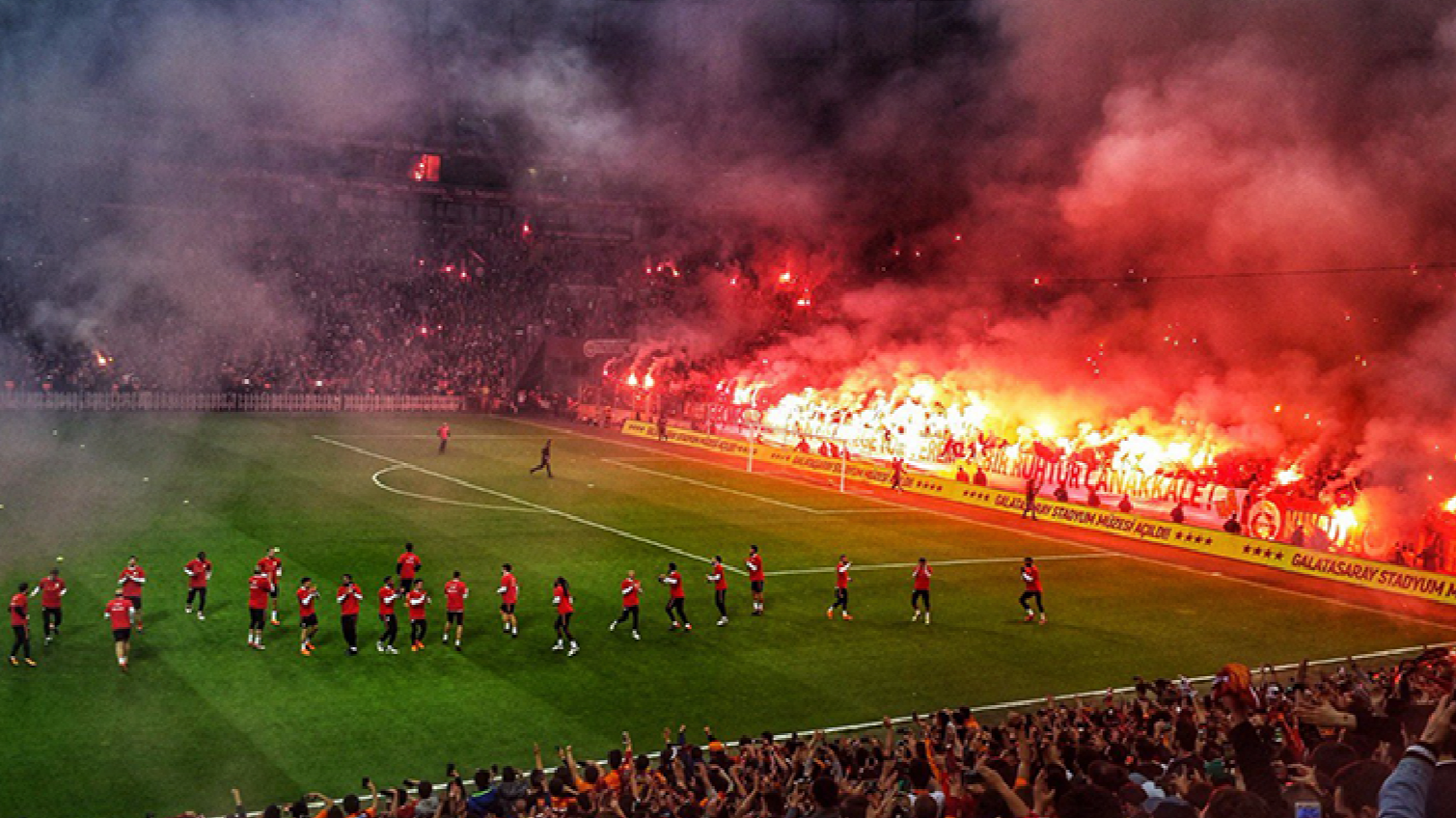 The Scenes At Galatasarays Open Training Are Like Nothing Else